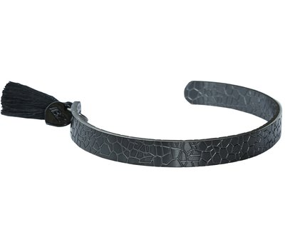 Snake armband black
