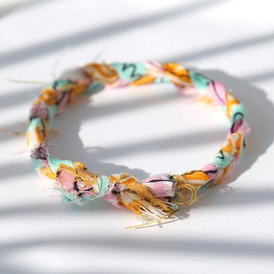 Armband bandana braid multi