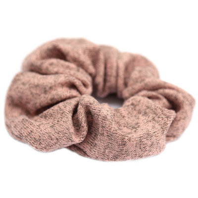 Scrunchie knitted rose melee