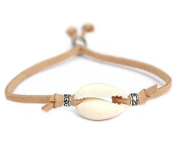 Shell bracelet beach natural