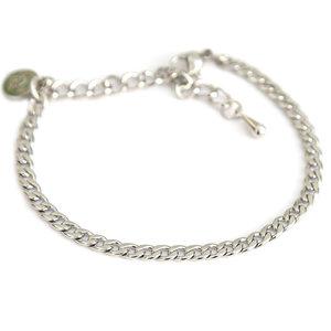 Bracelet fine chain silver