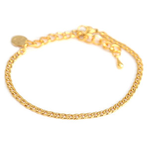 Bracelet fine chain gold