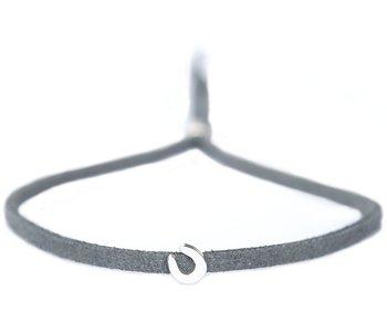 Bracelet for good luck anthracite