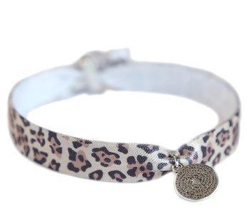 Enkelbandje luipaard munt