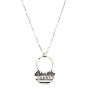 Ketting Tribe silver