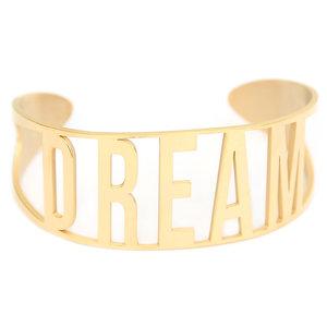 Dream bracelet gold