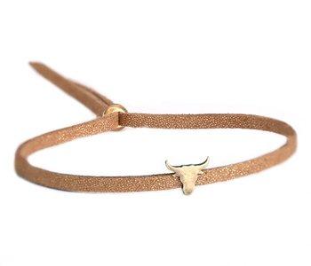 Buffalo bracelet bronze