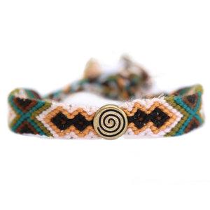 Cotton bracelet