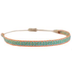 Armband Aztec orange
