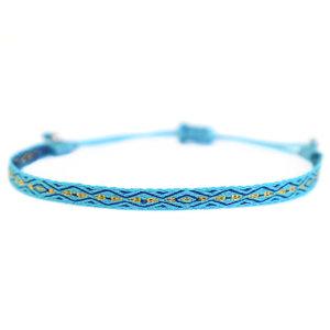 Armband Aztec blue