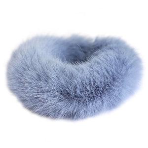 scrunchie faux fur