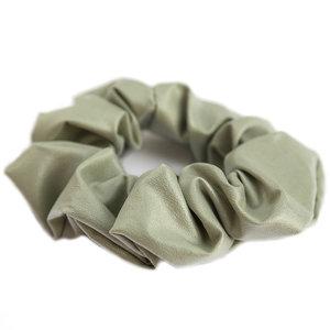 scrunchie faux leather