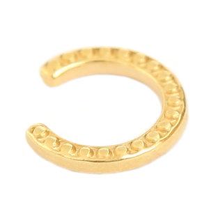 Earcuff gold dots