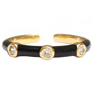 Monaco ring black